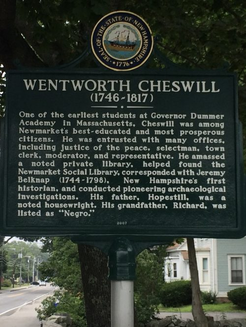 Cheswell marker