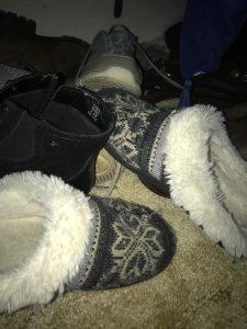 found my missing slipper