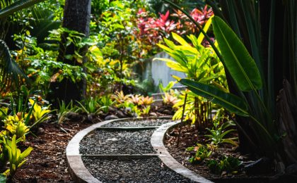 Are you keepng rules or growing a relationship?, garden path